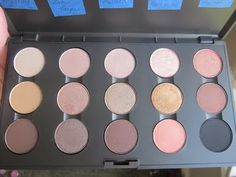 MAC eyeshadow for green/Blue eyes ~great palette .. all you would need!