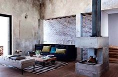 Méchant Studio Blog: Trendy Flat in South Africa