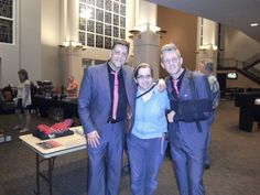 Ernie Haase, Me, and Devin McGlamery in Raytown, MO March 16, 2012