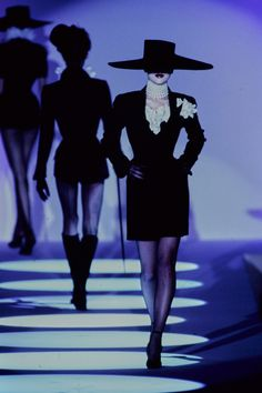 Mugler Spring 1997 Couture Fashion Show