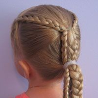 Babes in Hairland - great site for cute styles - Ponytails and Braids Hairstyle (18)