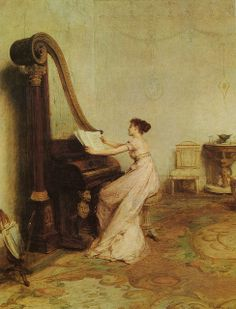 "Sir William Quiller Orchardson (1832-1910), ""Music when soft voices die, vibrates in the memory"" (Shelley)"