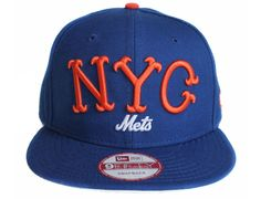 7b9f6d85881 NYC Mets Snapback Cap by THE 7 LINE x NEW ERA x MLB 5 Panel Hat