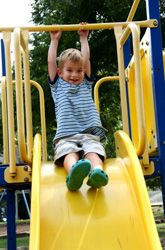 Gross motor skills - ideas for building an outdoor obstacle course - Re-pinned by #PediaStaff. Visit http://ht.ly/63sNt for all our pediatric therapy pins