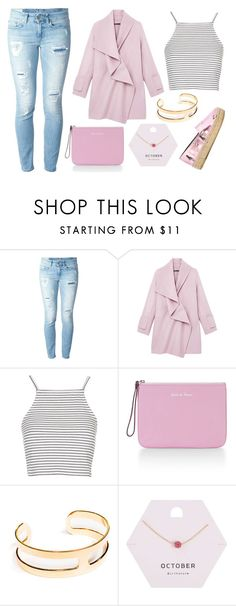 """Untitled #7304"" by beatrizibelo ❤ liked on Polyvore featuring Dondup, Vince, Topshop, Rebecca Minkoff, Janna Conner, Miss Selfridge and Kenzo"