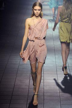 Lanvin Spring 2012 Ready-to-Wear Fashion Show - Josephine Skriver (IMG)