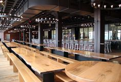 harpoon brewery: Growlers and soft pretzels in the Seaport Website says taking public transportation is highly recommended. Silver line