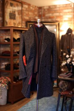 http://chicerman.com  tailorablenco:  Elegance Outwear from Tailorable&co  #menshoes