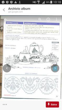 Filet Crochet Charts, Off White Colour, Colors