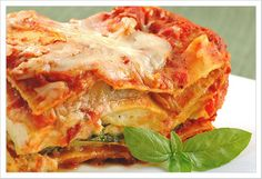 Farmer's Market Lasagna: A meatless lasagna, made with fresh veggies from the farmer's market is a satisfying and economical meal.
