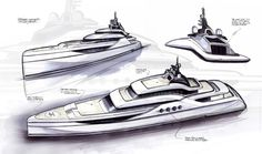 M.Y. SWELL 70M/229FT Exterior Yacht Design & Layout / © 2013 BY NEWCRUISE Krueger Yacht Projekt GmbH by NICOLAS CARATIOLA at Coroflot.com