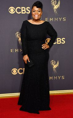 Yvette Nicole Brown from 2017 Emmys Red Carpet Arrivals