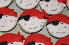 Wedding Pirate Cupcakes