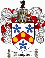 Hampton Coat of Arms / Hampton Family Crest