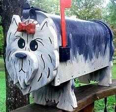 Lhasa Apso mailbox