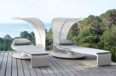 Modern outdoor furniture gives you the ability to truly enjoy spring, summer and autumn. Modern outdoor patio furniture combines your love of outdoor, entertainment and modern design in a simple and sophisticated package. Pool Furniture, Outdoor Lounge Furniture, Furniture Design, Furniture Movers, Rattan Furniture, Furniture Online, Luxury Furniture, Modern Landscape Design, Modern Landscaping