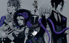 Ciel Phantomhive || Sebastian Michaels || Dagger || Beast || Joker || Black Butler