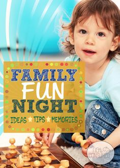 Family Fun Night is a great way to build family unity. All you need is a few minutes and your family can make memories. Check out these 10+ family fun night themes!