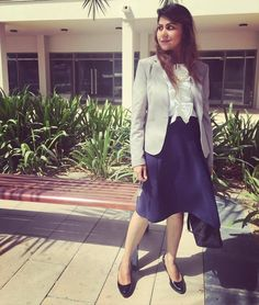 Dubai Looking absolutely fab in our Nesreen skirt and Lara shirt. Did I mention I have massive withdrawals these days? Office Fashion, Dubai, Blazer, Skirts, Instagram Posts, Jackets, Down Jackets, Office Attire, Skirt