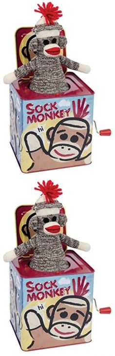 Jack-in-the-Box 166785: Sock Monkey Jack In The Box -> BUY IT NOW ONLY: $30.95 on eBay!