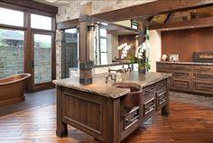 Interior Design Ideas - Home Bunch - An Interior Design  Luxury Homes Blog | Rustic Bathroom