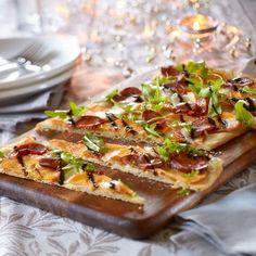 Pizza aux kakis Persimon