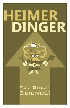 Heimerdinger League of Legends Print by pharafax on Etsy, $16.00