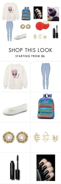 """""""weknd"""" by magconloma on Polyvore featuring Chicnova Fashion, Topshop, Vans, Kendra Scott, Charlotte Russe, Bobbi Brown Cosmetics, Eos, women's clothing, women and female"""