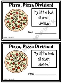 Pizza, Pizza Division! {freebie} that is such a good idea to teach alex