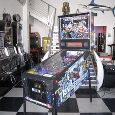 Transformers Pinball Machine by Stern Upgraded w Color LED Bulbs $199 SHIP | eBay
