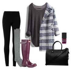 """Untitled #23"" by maggiekerr on Polyvore featuring Max Studio, RVCA, Hunter, Lane Bryant and Paul & Joe"