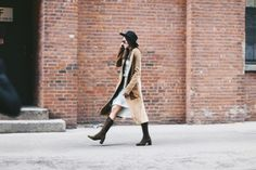 #long #coat #neutrals #boots