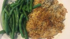 Golden brown bread crumbs and Parmesan cheese make a terrific crust for this simple baked flounder.