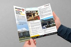 Flyer Inside Design for SuperRender Construction