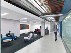M Moser Associates have designed the offices of nonprofit educational organization Teach For America, located in San Francisco, California. Teach For