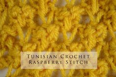 For more Tunisian Crochet stitches and patterns visit Tuncro.blogspot.com