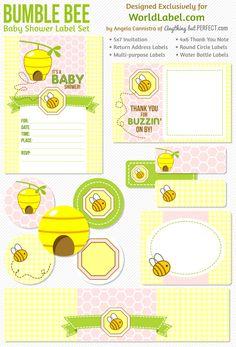 Bumble Bee printable