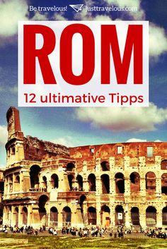 Was muss man in Rom machen und was darf man auf gar keinen Fall machen? Damit ihr in keine Touristenfalle tappt, habe ich hier für euch die besten Tipps für eure Rom Reise. Inklusive einiger Geheimtipps zu den bekannten Sehenswürdigkeiten und einem Video zur Inspiration für eure Rom Reise. #Rom #Italien #Rome #Roma #Städtereise #citytrip #Europa