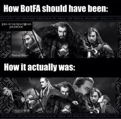 The most accurate thing ever. I can't decide whether to laugh, cry or rage.  You forgot Alfrid.