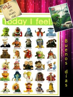 Use the coupon code monster25 to receive 25 of off your purchase how are you feeling today muppets poster for the classroom fandeluxe Choice Image