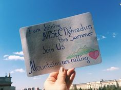 Chapter 1. Mountains are calling!  My love of Mountains has been existing for many years. But I saw only the Caucasus, because I lived not far from it. Nowadays I have a chance to see the Himalayas!!! With the help of AIESEC (international organization of young leaders) I got the opportunity to take part in great project of Global Citizen program. And India was choose by me and I was chosen with it.