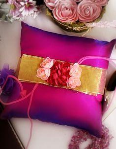 DIY wedding Ring Pillows