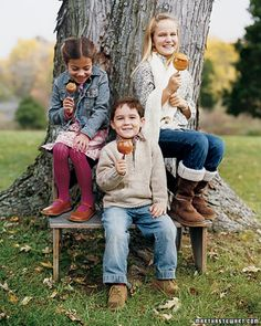 Classic Caramel Apples - Martha Stewart Recipes