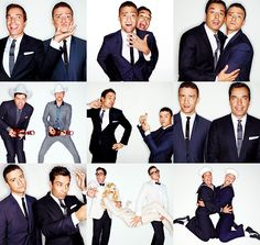 Justin Timberlake and Jimmy Fallon!! My two favorite celebs!!!!! :) :) :) They crack me up, especially together =D