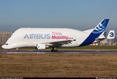 Airbus Transport International, Airbus A300B4-608ST taken 06. Feb 2015 at Hamburg - Finkenwerder (XFW / EDHI) airport, Germany by Marcel Hohl