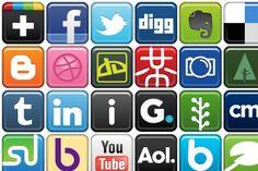Social Bookmark Icons - Artwork by Deleket (Jojo Mendoza) Social Network Icons, Mendoza, Artwork, Work Of Art, Auguste Rodin Artwork, Artworks, Illustrators