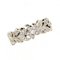 Beverley K Diamond Flower Eternity Band