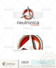 Technology Logo 3D349 — Photoshop PSD #internet #hosting • Available here → https://graphicriver.net/item/technology-logo-3d349/496678?ref=pxcr
