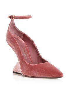 Salvatore Ferragamo Velvet Ankle Strap Sandals store sale cheap sale reliable buy cheap good selling Cj5wZr