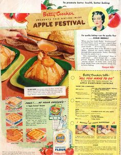 Betty Crocker PRESENTS THIS NATION-WIDE APPLE FESTIVAL   by spuzzlightyeartoo